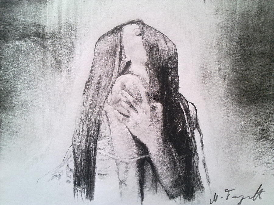Passion Drawing - Passion by Milan Garcevic
