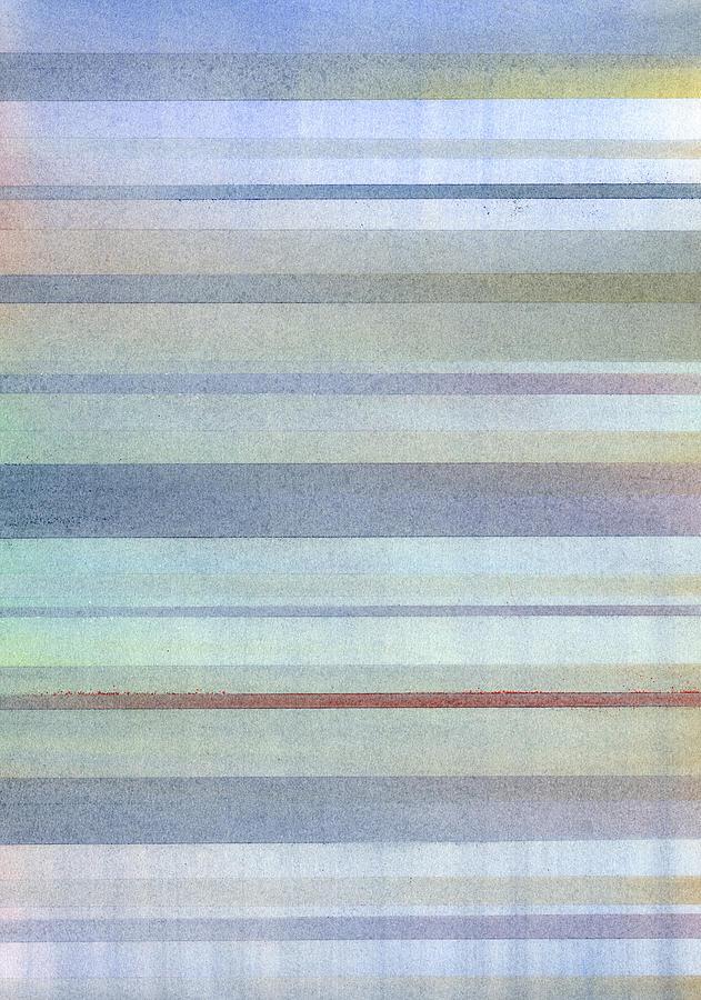 Pastel Stripes Painting