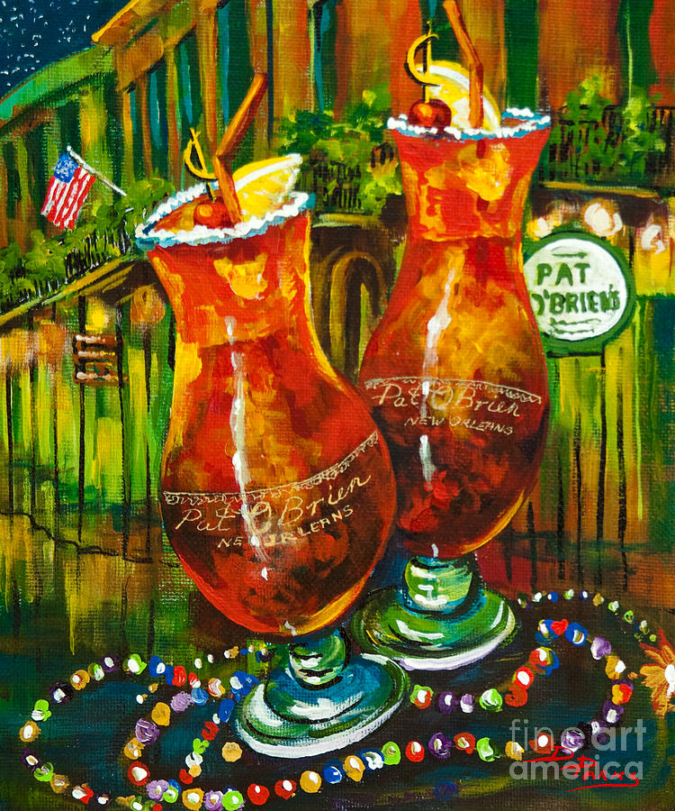 Pat Obriens Hurricanes Painting