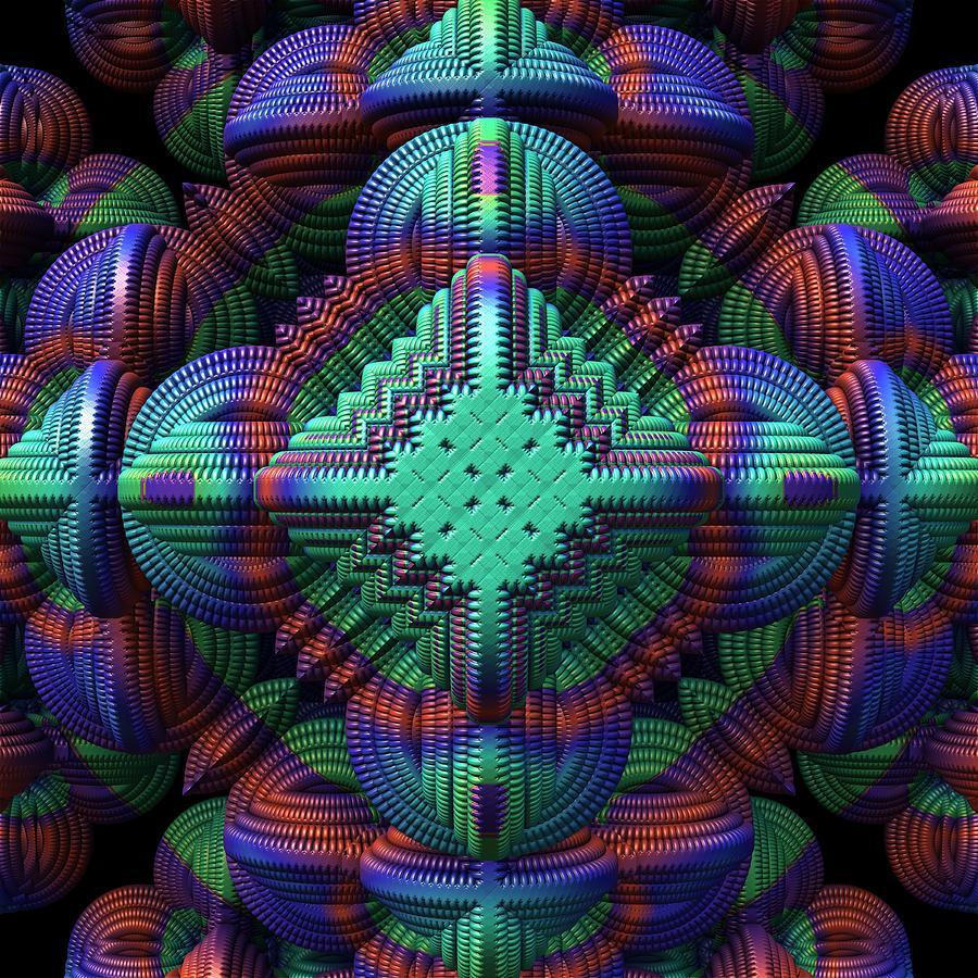 Patchwork Digital Art