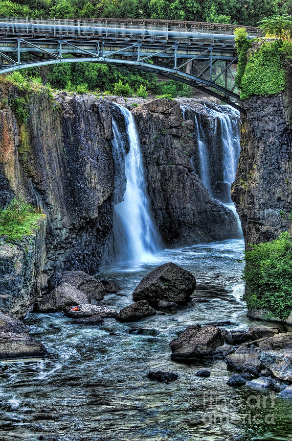 Paterson Great Falls Photograph - Paterson Great Falls by Paul Ward