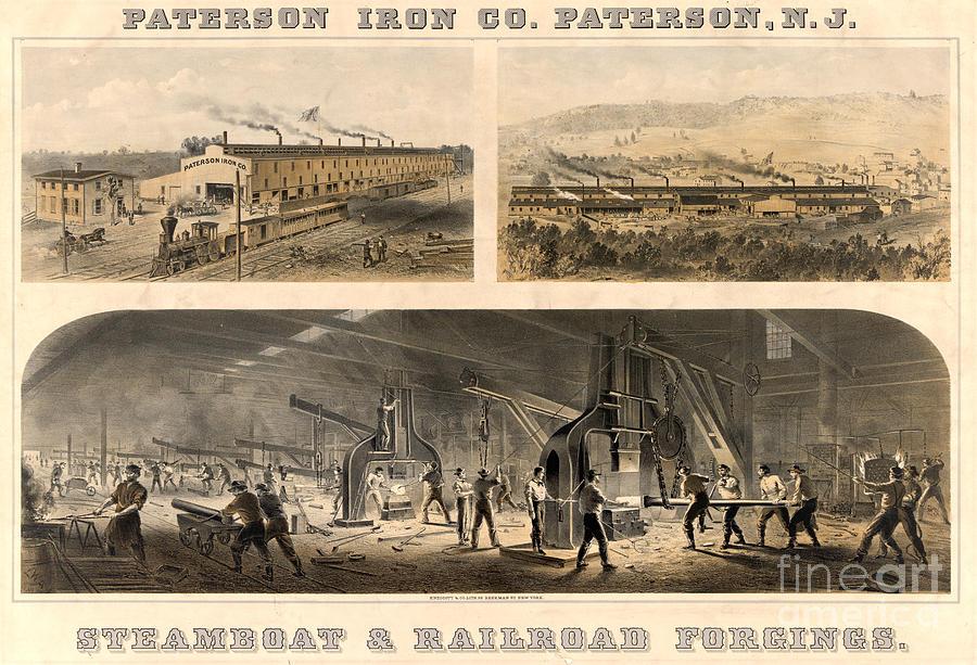Paterson Iron Company Photograph