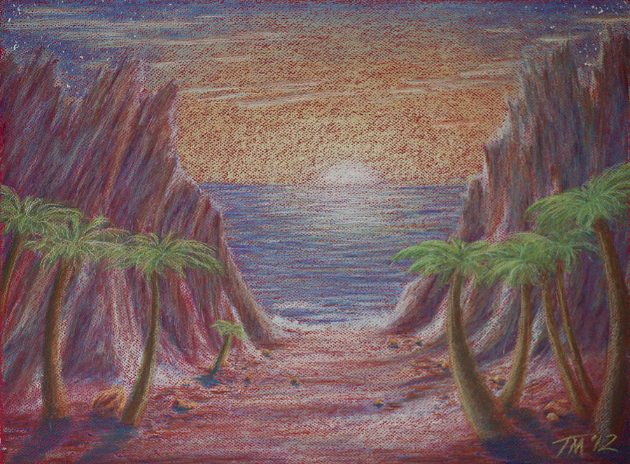 Path To Freedom Pastel  - Path To Freedom Fine Art Print