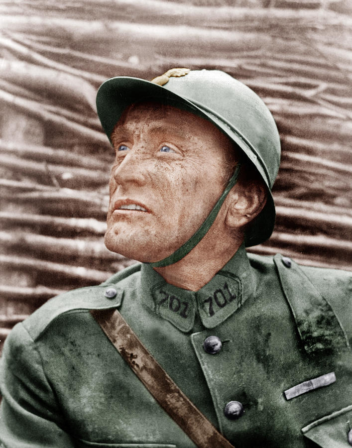 Paths Of Glory, Kirk Douglas, 1957 Photograph  - Paths Of Glory, Kirk Douglas, 1957 Fine Art Print