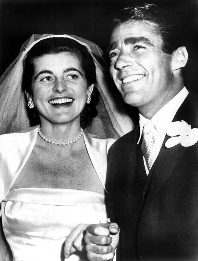Patricia Kennedy Lawford And Husband Photograph