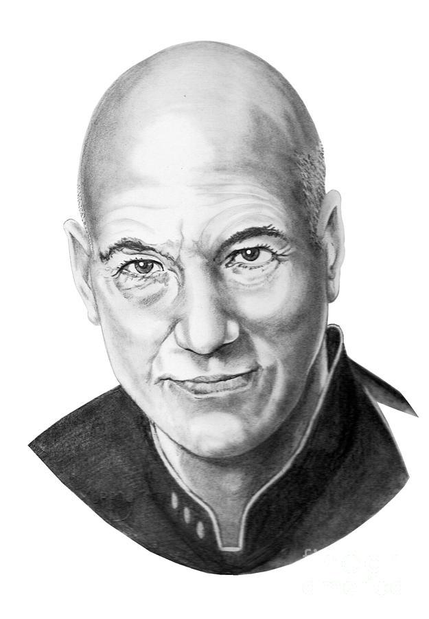 Patrick Stewart Drawing