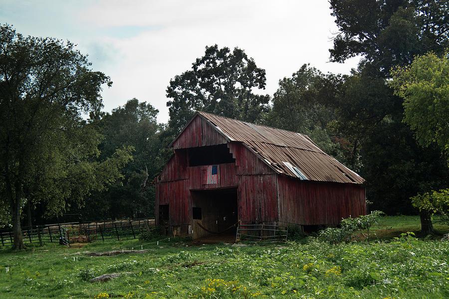 Patriotic Barn 1 Photograph