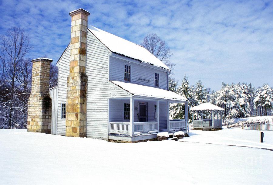 Patterson House Carnifax Ferry Battlefield Photograph