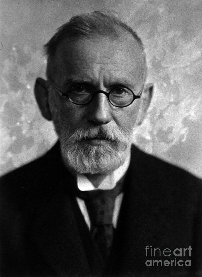 Paul Ehrlich, German Immunologist Photograph
