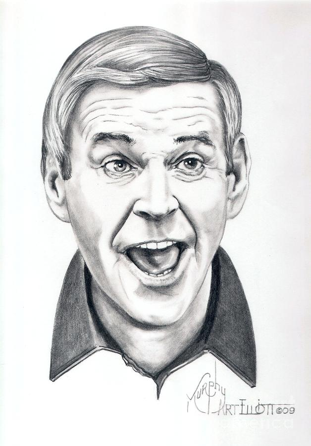Paul Lynde Drawing  - Paul Lynde Fine Art Print