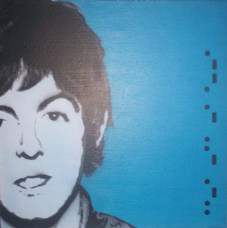 Paul Mccartney Painting