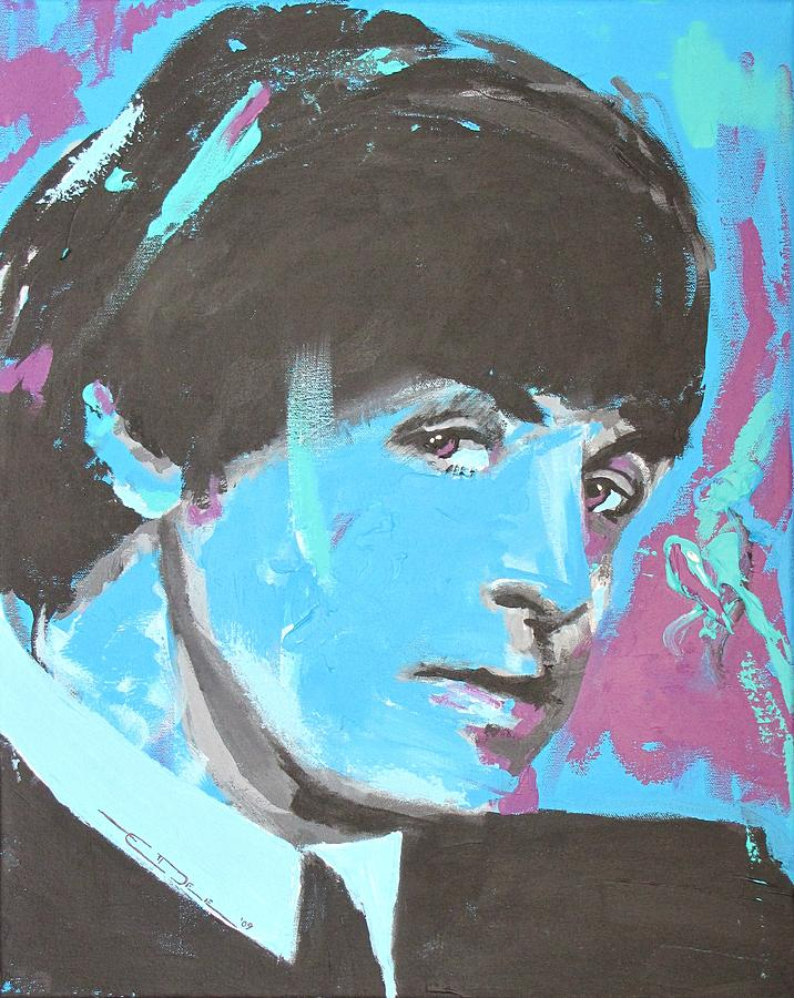 Paul Mccartney Single Painting  - Paul Mccartney Single Fine Art Print