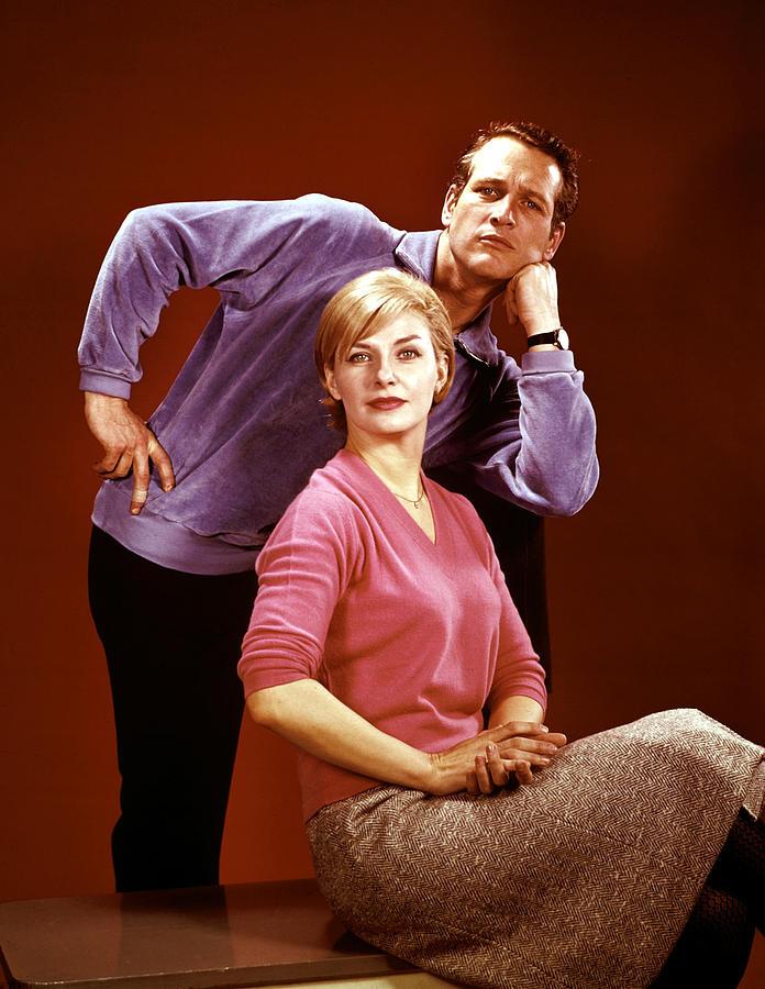 Paul Newman, Joanne Woodward Photograph