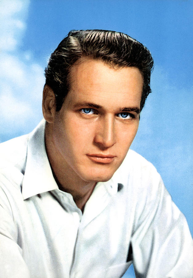 Paul Newman, Portrait Ca. 1950s Photograph  - Paul Newman, Portrait Ca. 1950s Fine Art Print