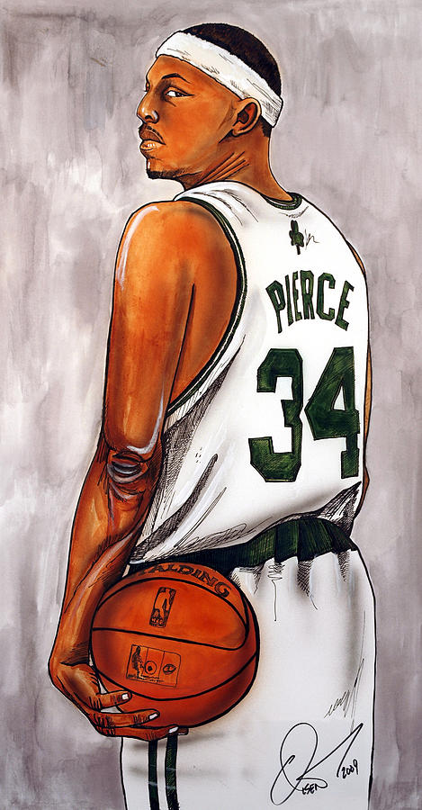 Paul Pierce - The Truth Painting