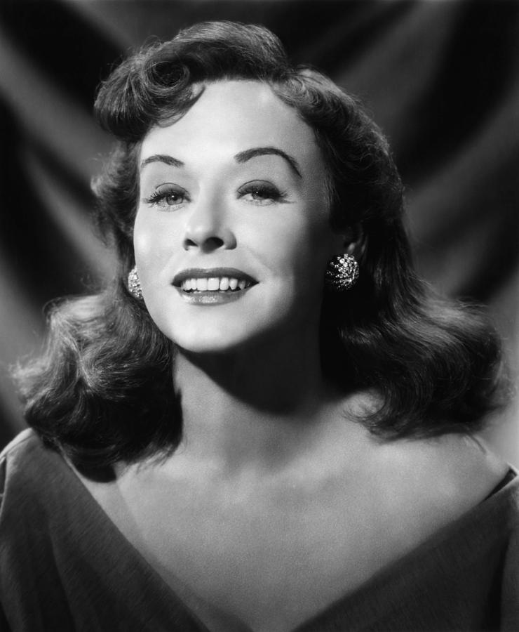 1950s Portraits Photograph - Paulette Goddard, Ca. 1953 by Everett