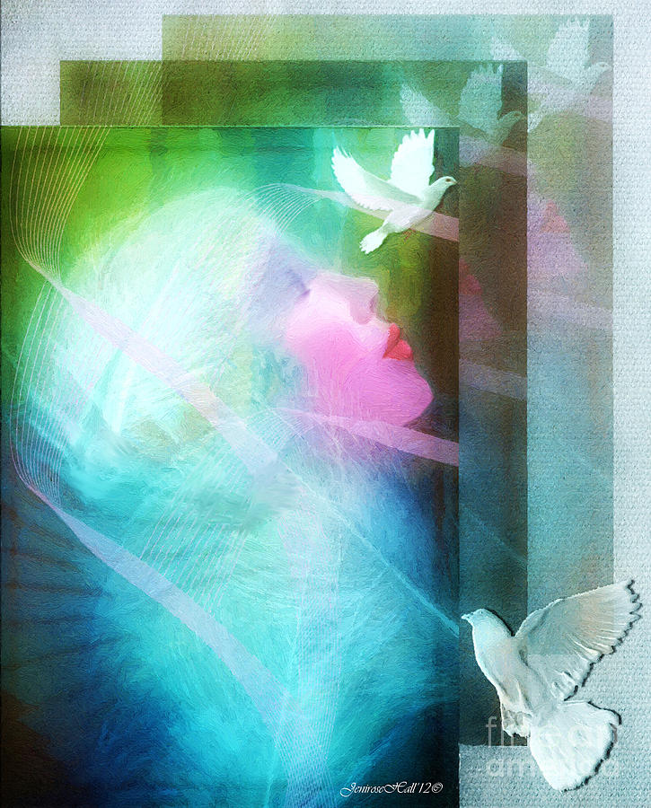 Peace Digital Art  - Peace Fine Art Print