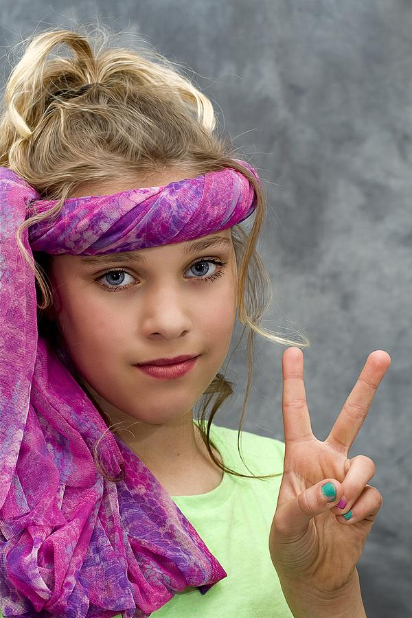 Peace Sign Photograph