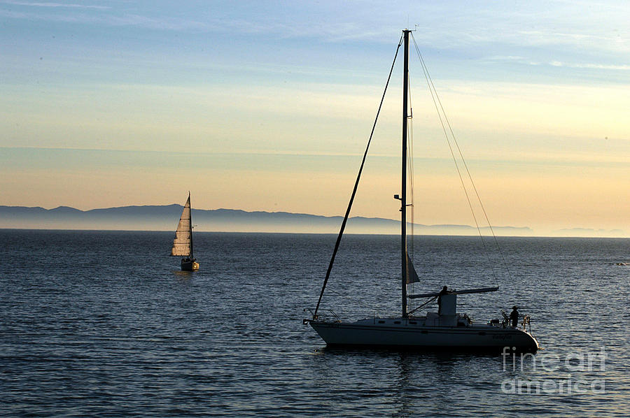 Peaceful Day In Santa Barbara Photograph  - Peaceful Day In Santa Barbara Fine Art Print