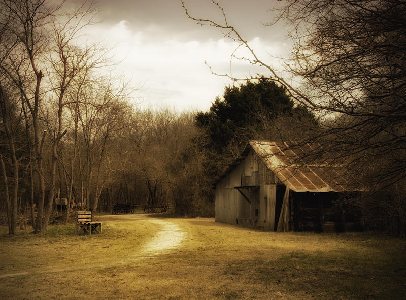 Peaceful Old Barn Photograph