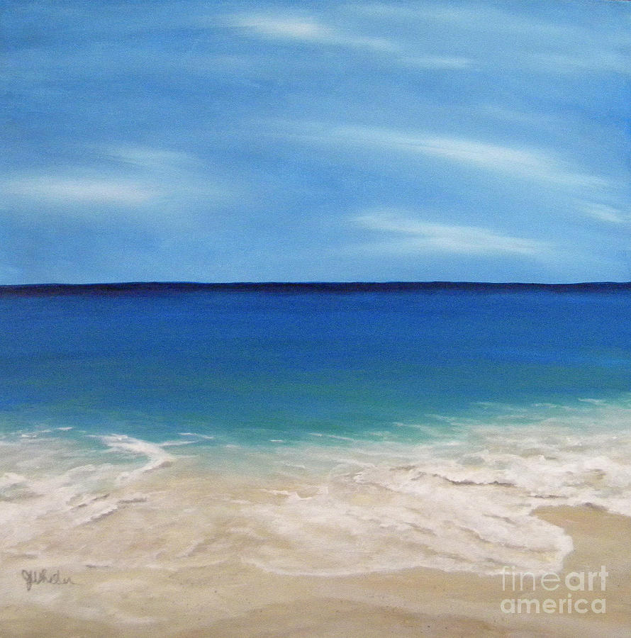 Peaceful Sands Painting  - Peaceful Sands Fine Art Print