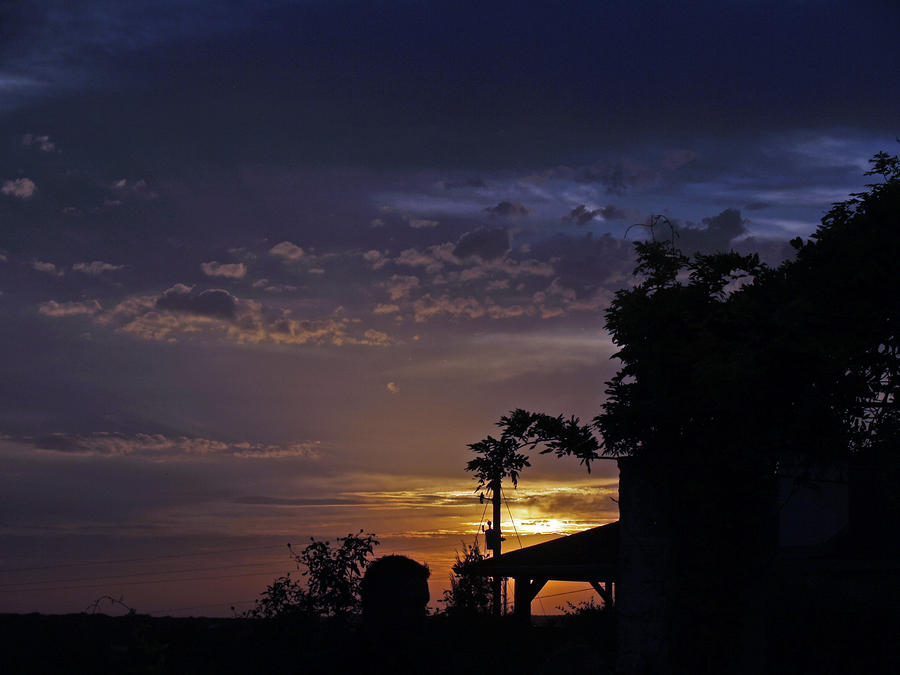 Peaceful Sunset Photograph