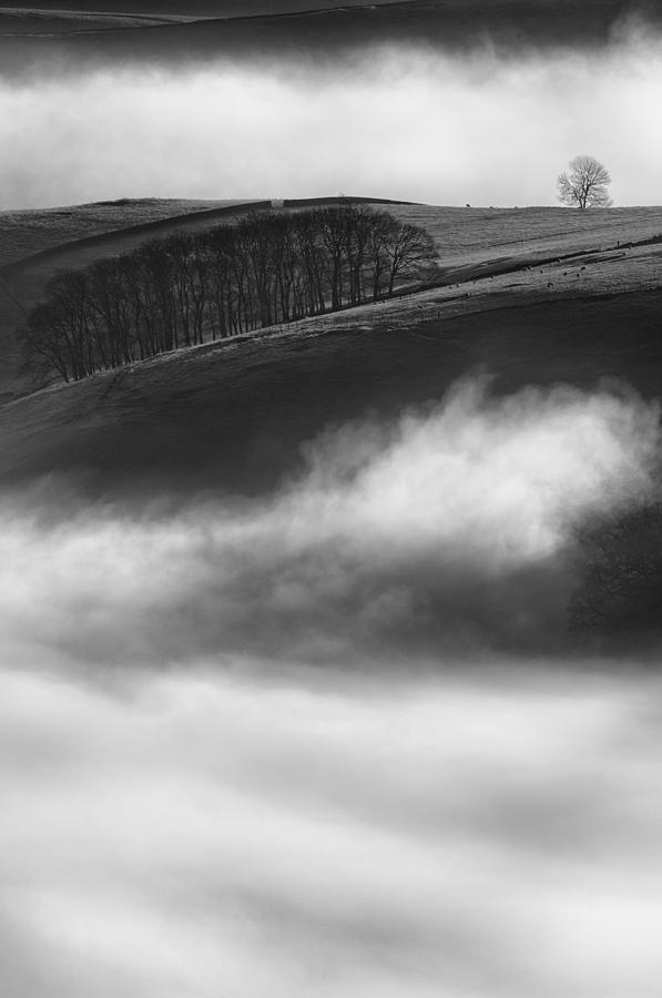 Peak District Photograph - Peak District Landscape by Andy Astbury