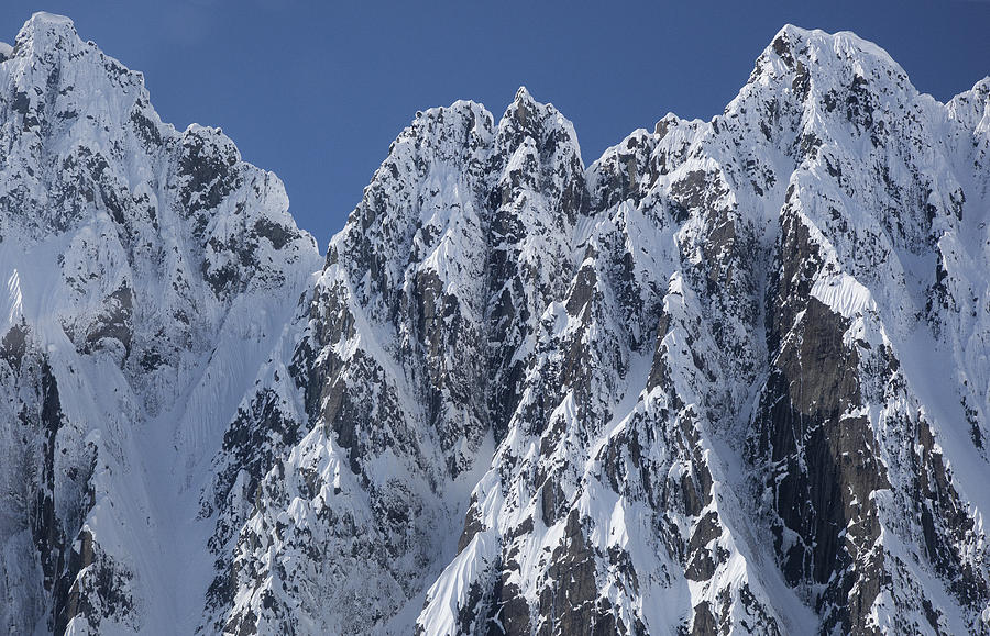 Peaks Of Takhinsha Mountains Photograph