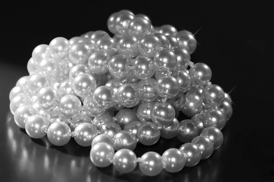 Pearls Photograph  - Pearls Fine Art Print