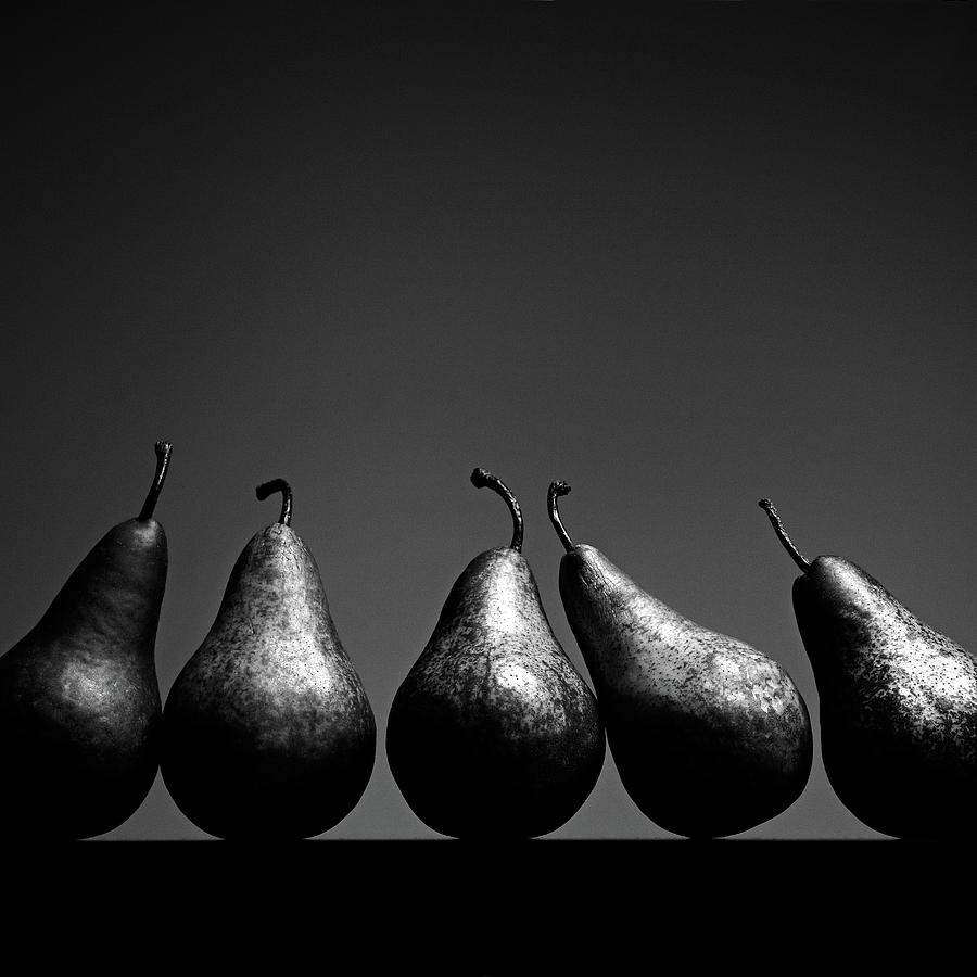 Square Photograph - Pears by Eddie OBryan