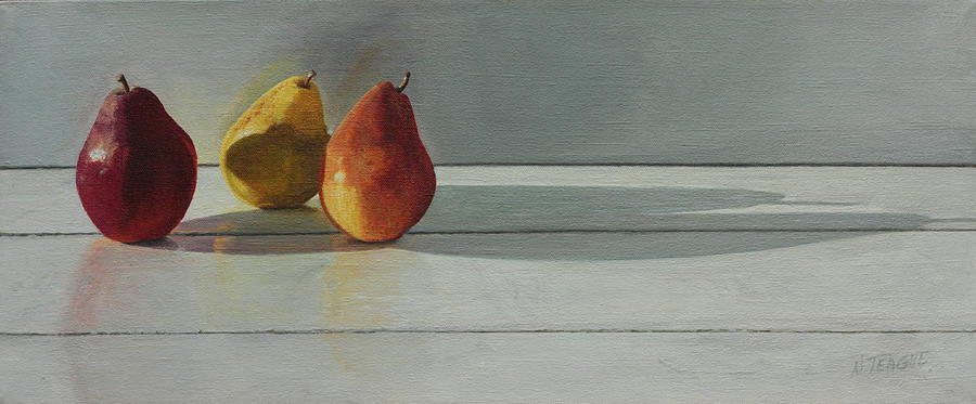 Pears Long Shadow Painting