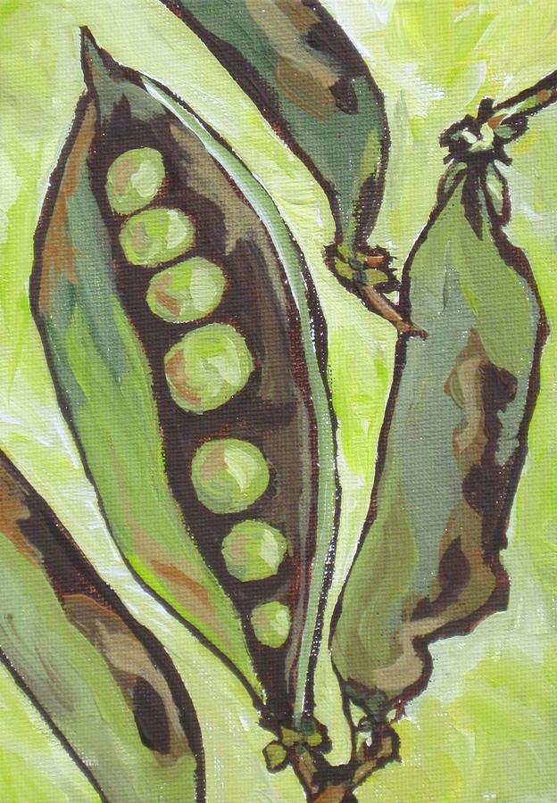 Peas Painting