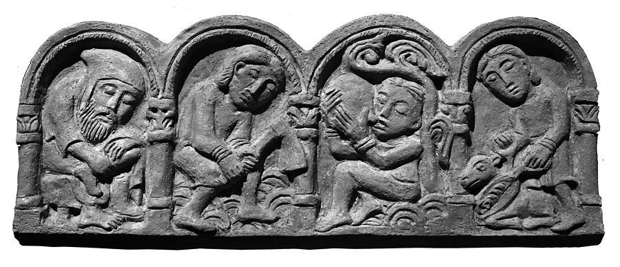 Peasants Life Sculpture