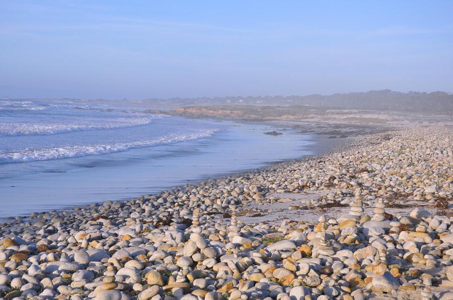 Pebble beach monterey ca by vijay sharon govender for Best beach in monterey ca
