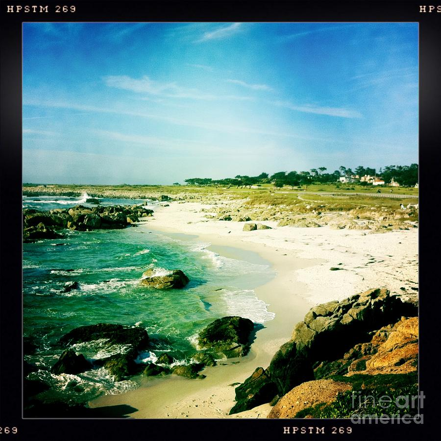 Pebble Beach Photograph  - Pebble Beach Fine Art Print