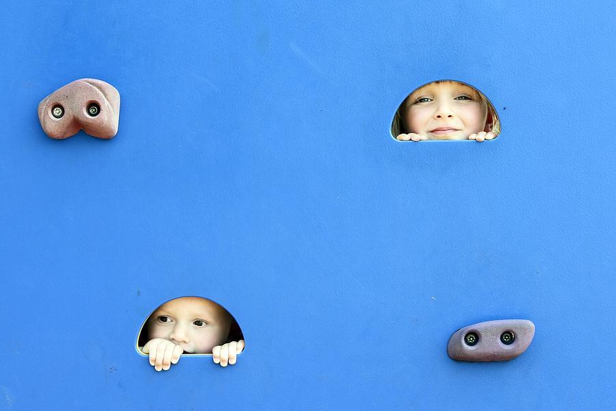 Peek-a-boo Photograph