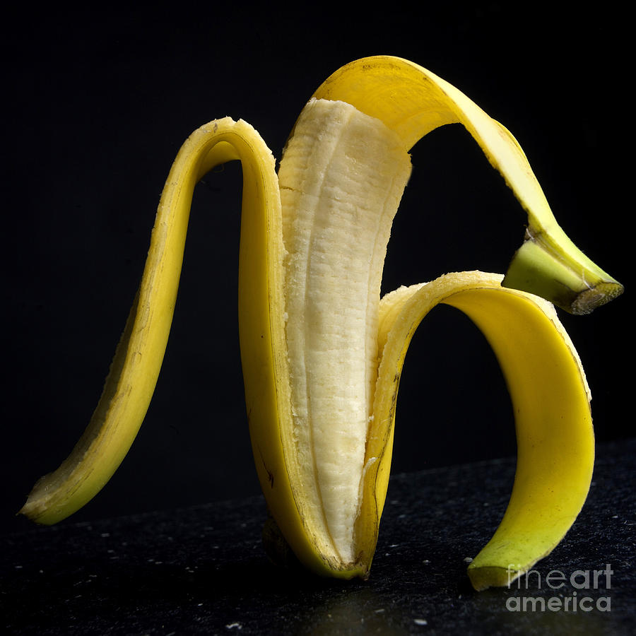 Peeled Banana. Photograph  - Peeled Banana. Fine Art Print
