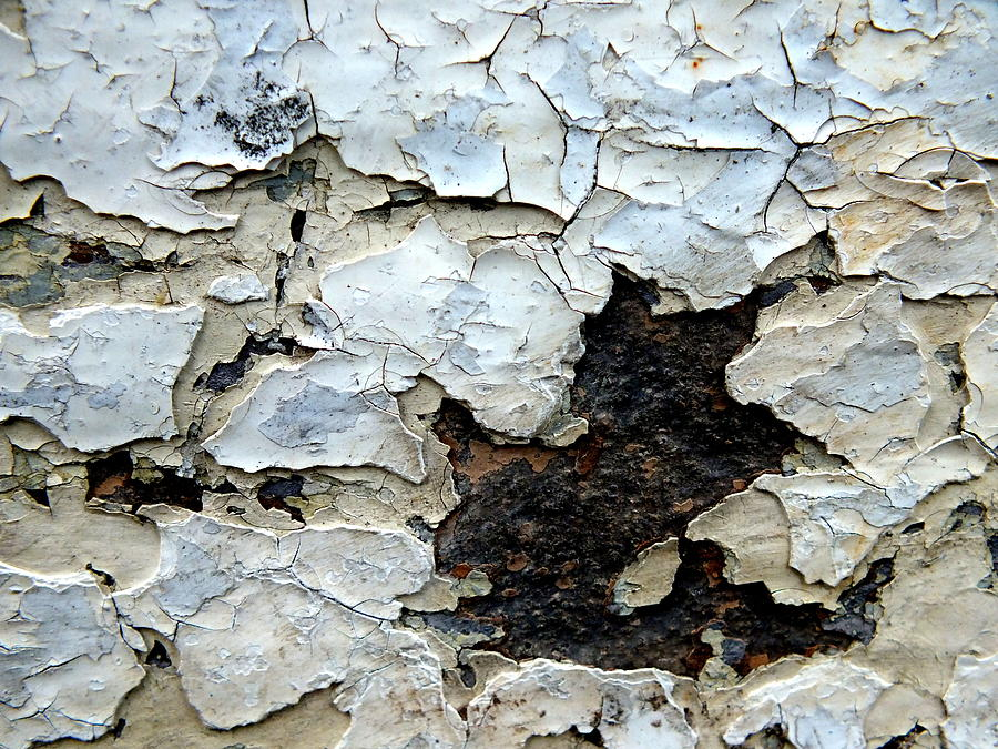 Peeling Paint Photograph