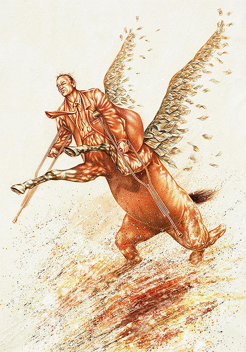 Pegasus by Andre Pijet
