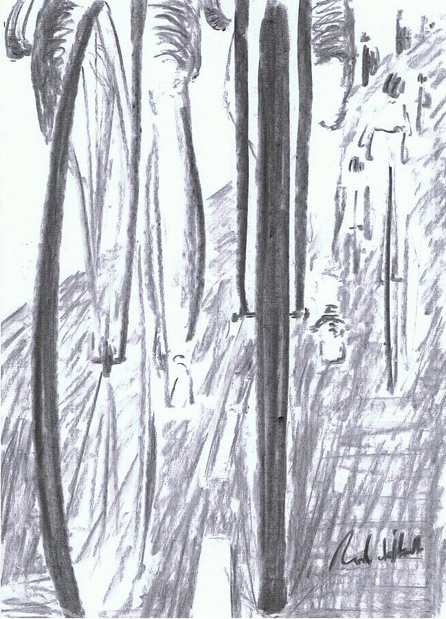 Pelaton Cycle Racing Bicycle  Pastel - Pelaton by Rod De Hoedt