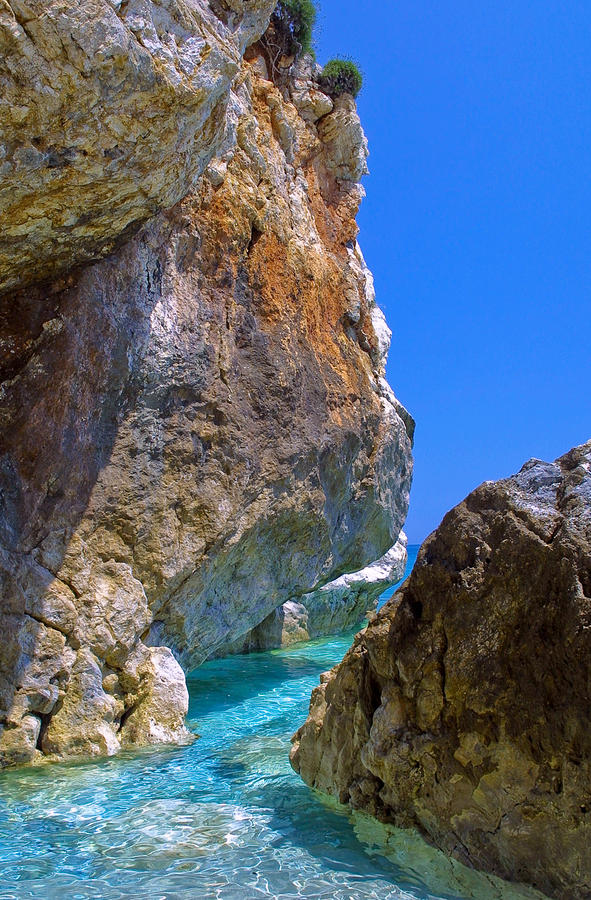 Pelion Rocks Photograph