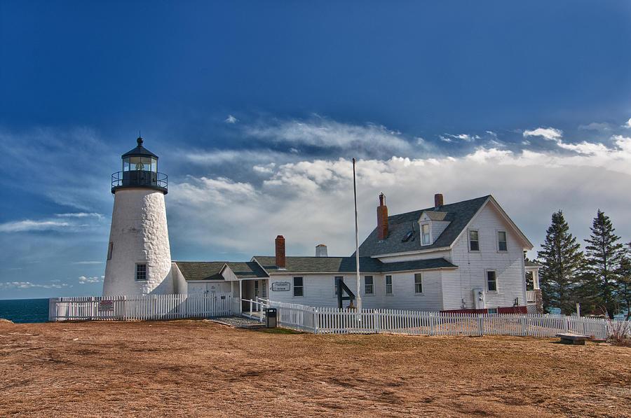 Pemaquid Point Lighthouse 4800 Photograph