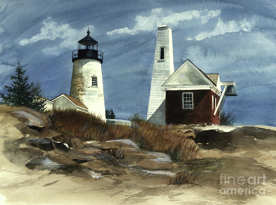 Pemaquid Point Lighthouse  Painting