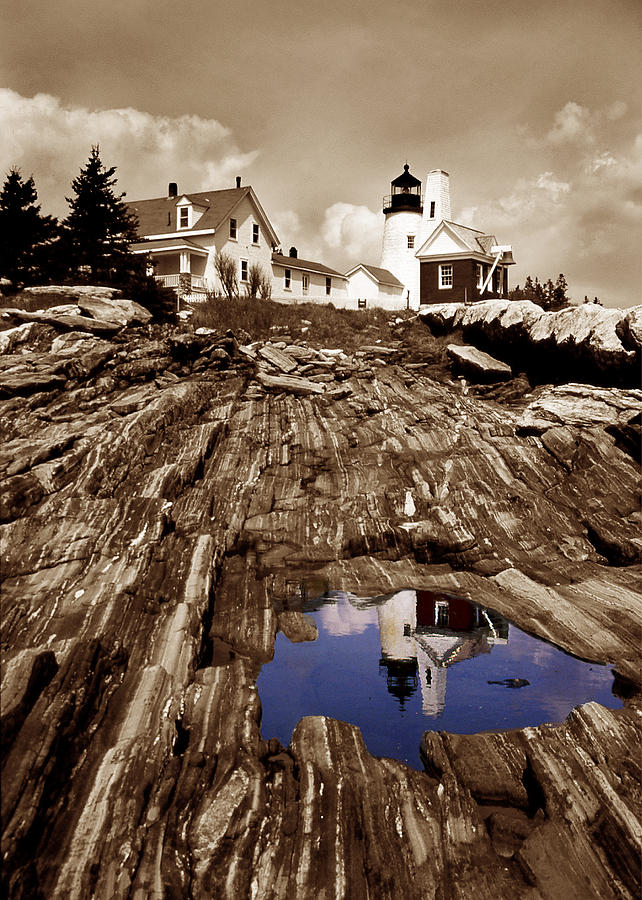 Pemaquid Photograph  - Pemaquid Fine Art Print