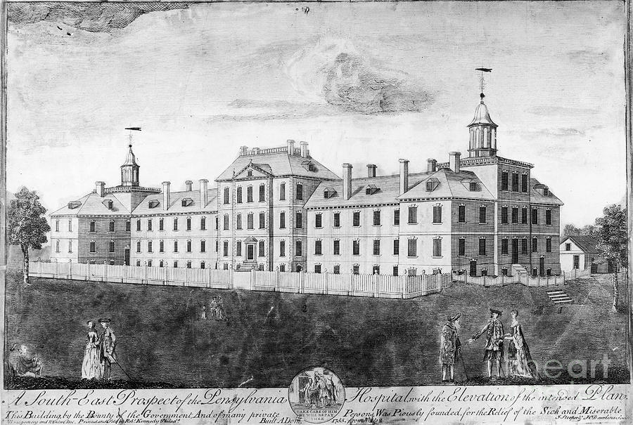 Pennsylvania Hospital, 1755 Photograph