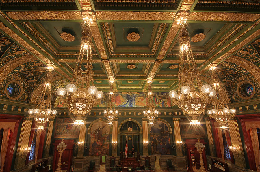Pennsylvania Senate Chamber Photograph