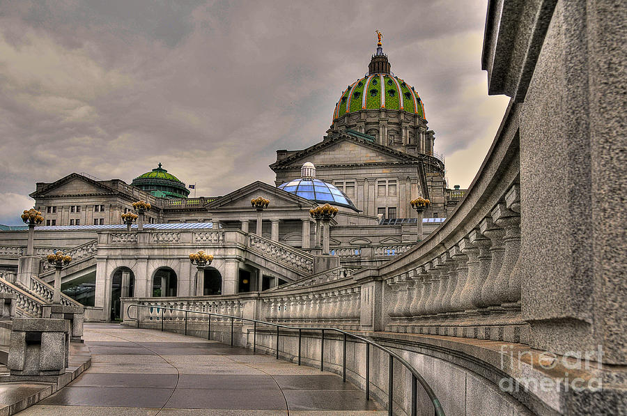 Pennsylvania State Capital Photograph  - Pennsylvania State Capital Fine Art Print