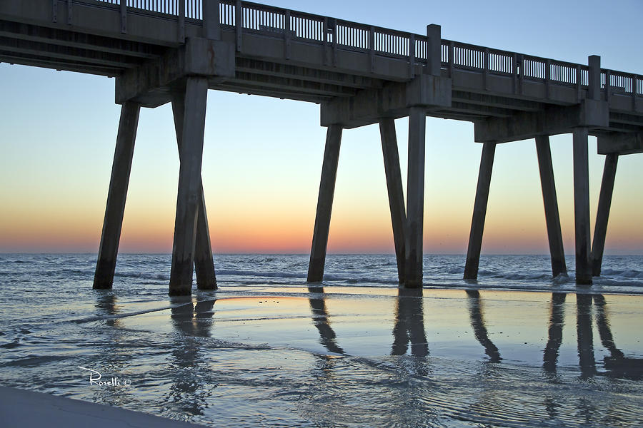 Pensacola Pier At Sunrise 3 Photograph