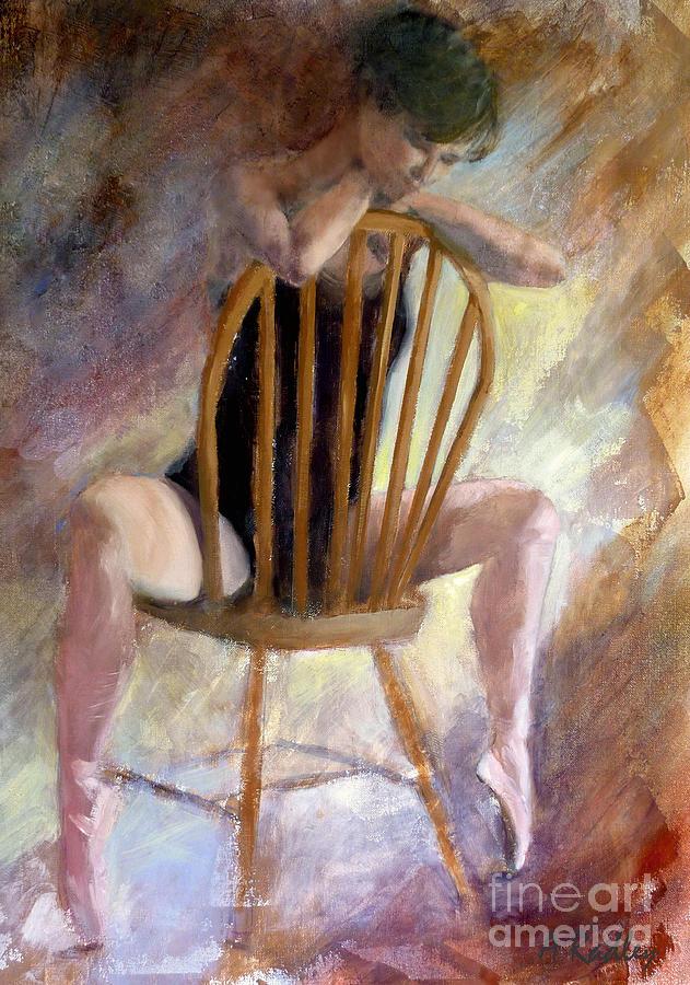Pensive Dancer Painting