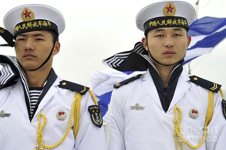 Peoples Liberation Army Navy Sailors Photograph